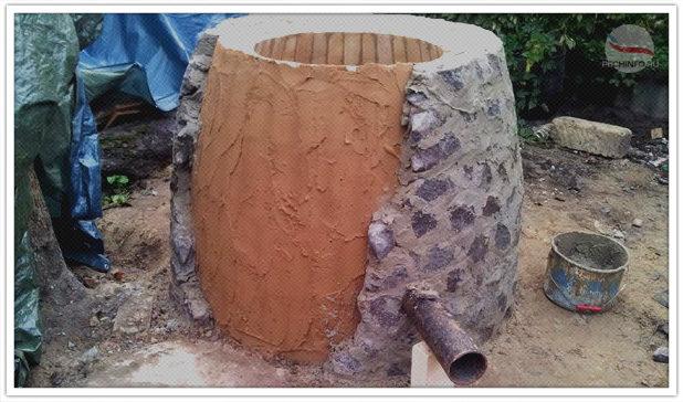 тандыр из глины