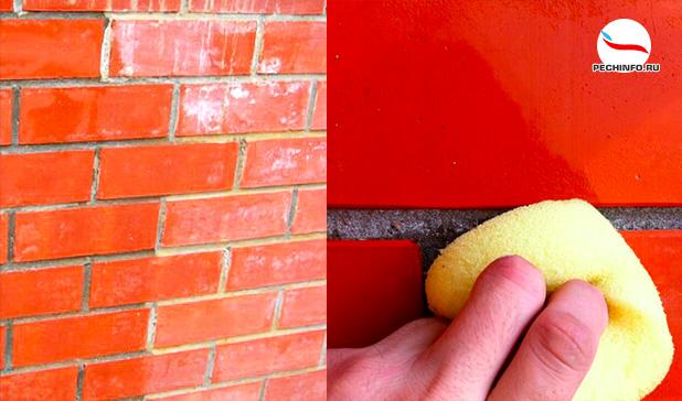 Подготовка кирпичной печи к покраске лаком