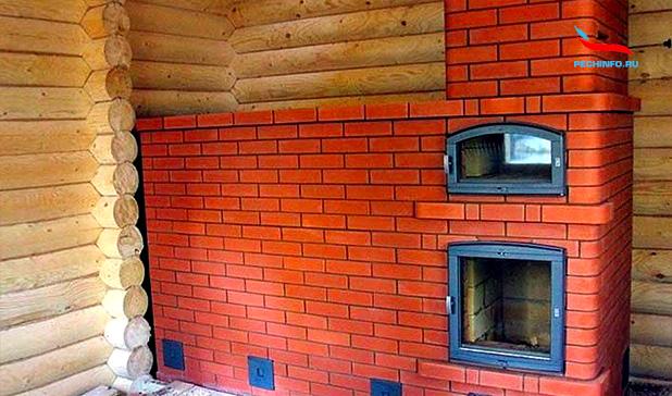 Проекты кирпичных печей для дома