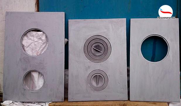 Разновидности чугунных варочных плит