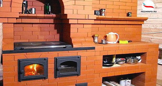 Варочная печь с духовкой