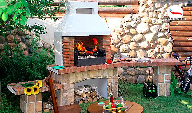 Печь каменка или барбекю что лучше в саду мангал барбекю по системе и.в кузнецова