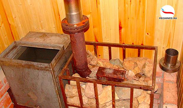 Как сделать своими руками железную для бани 721