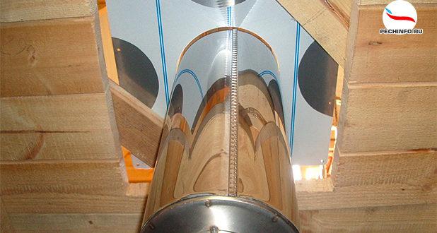 Печная труба в баню